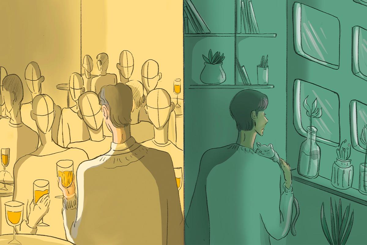 Không phải người hướng nội, cũng chẳng phải hướng ngoại. Bạn là ai?