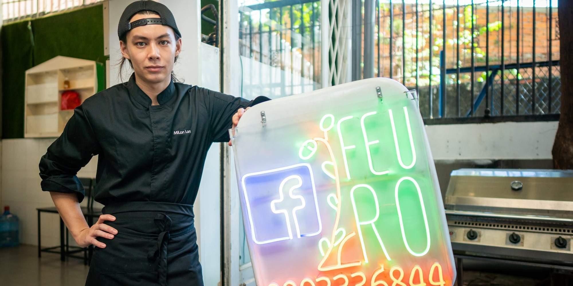 FEURO — Trải nghiệm ẩm thực châu Âu cao cấp trên chiếc xe máy