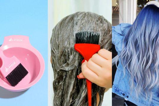 Nhuộm tóc tại nhà: Từ lạ đến thảm họa!
