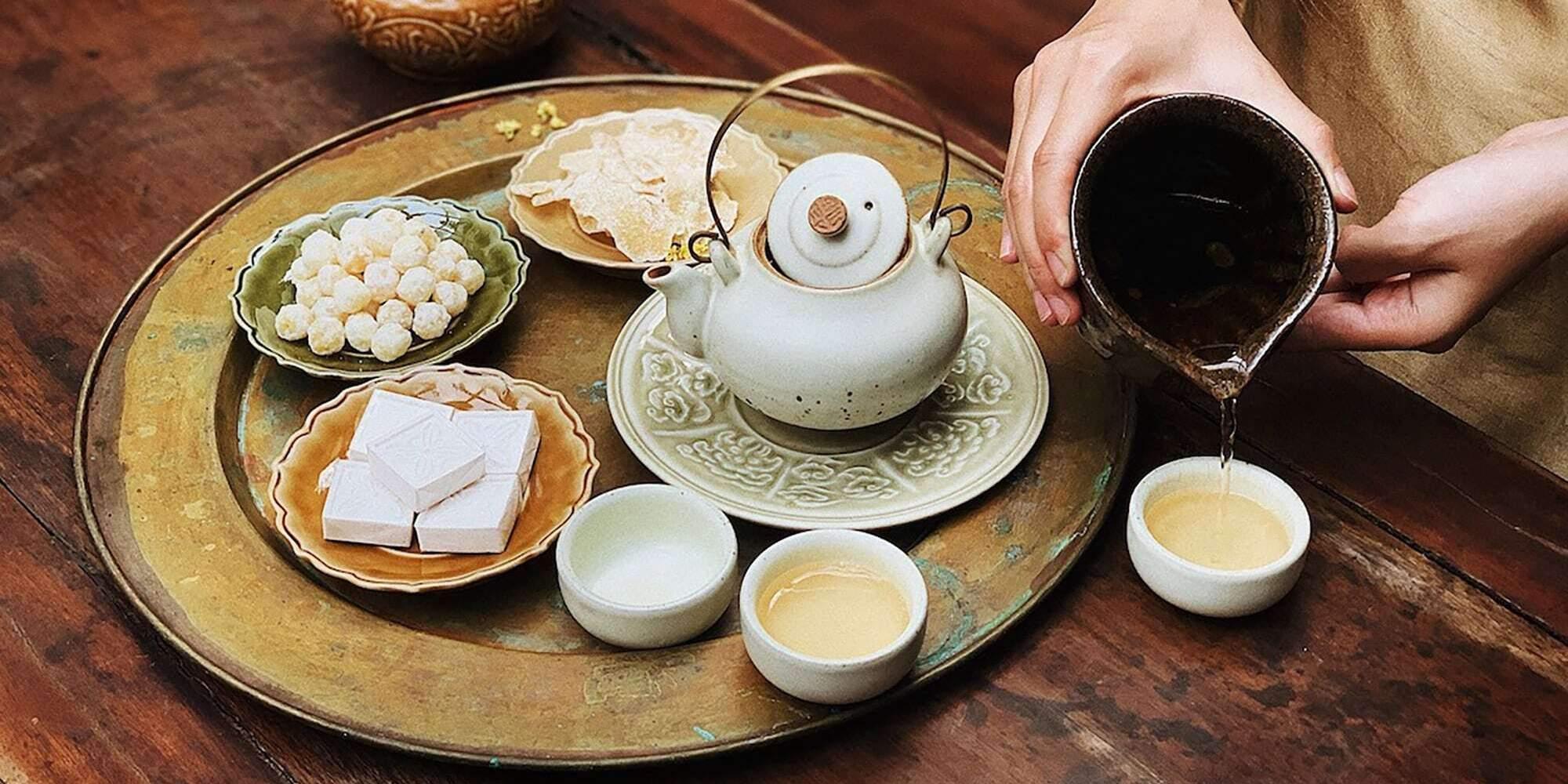 Dừng chân ghé lại 3 quán ở Hà Nội để phẩm trà Việt