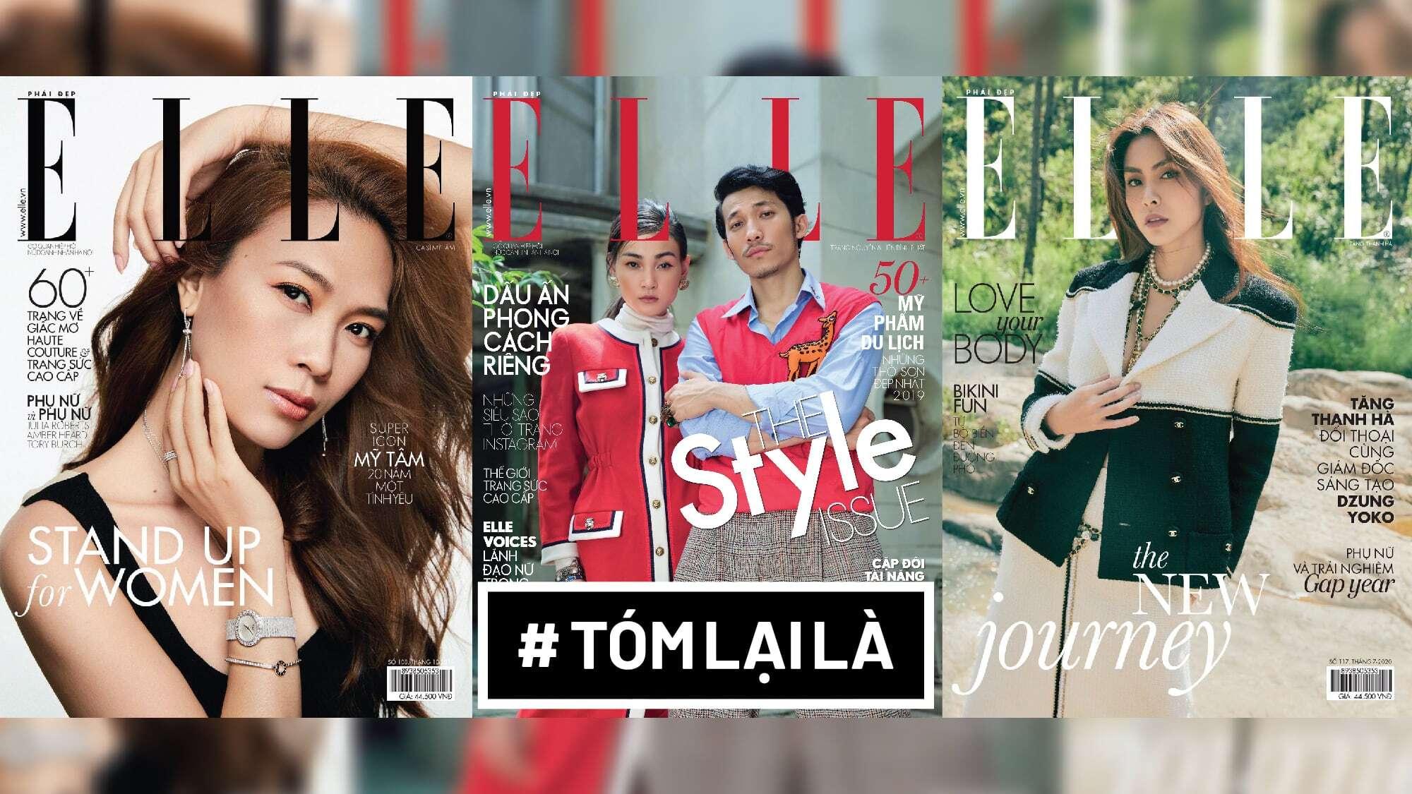 Tóm Lại Là: ELLE Vietnam dừng xuất bản, kỉ nguyên tạp chí thời trang sắp hết?