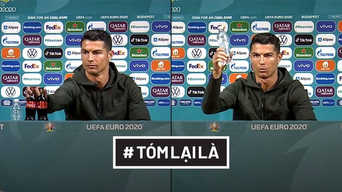 Tóm Lại Là: Ronaldo thích uống nước lọc hơn!
