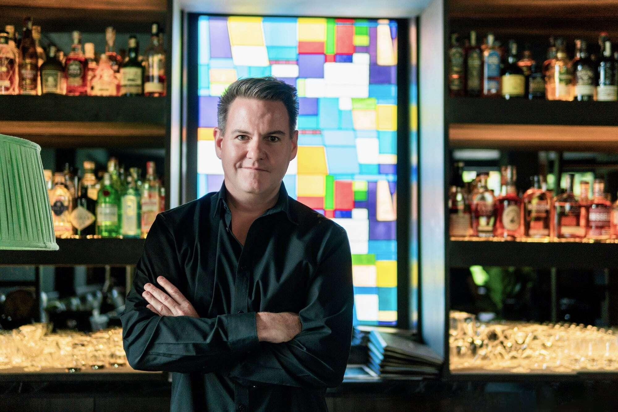 Kristian Harmston - nhà sáng lập Alchemy Wines & Spirits Asia.