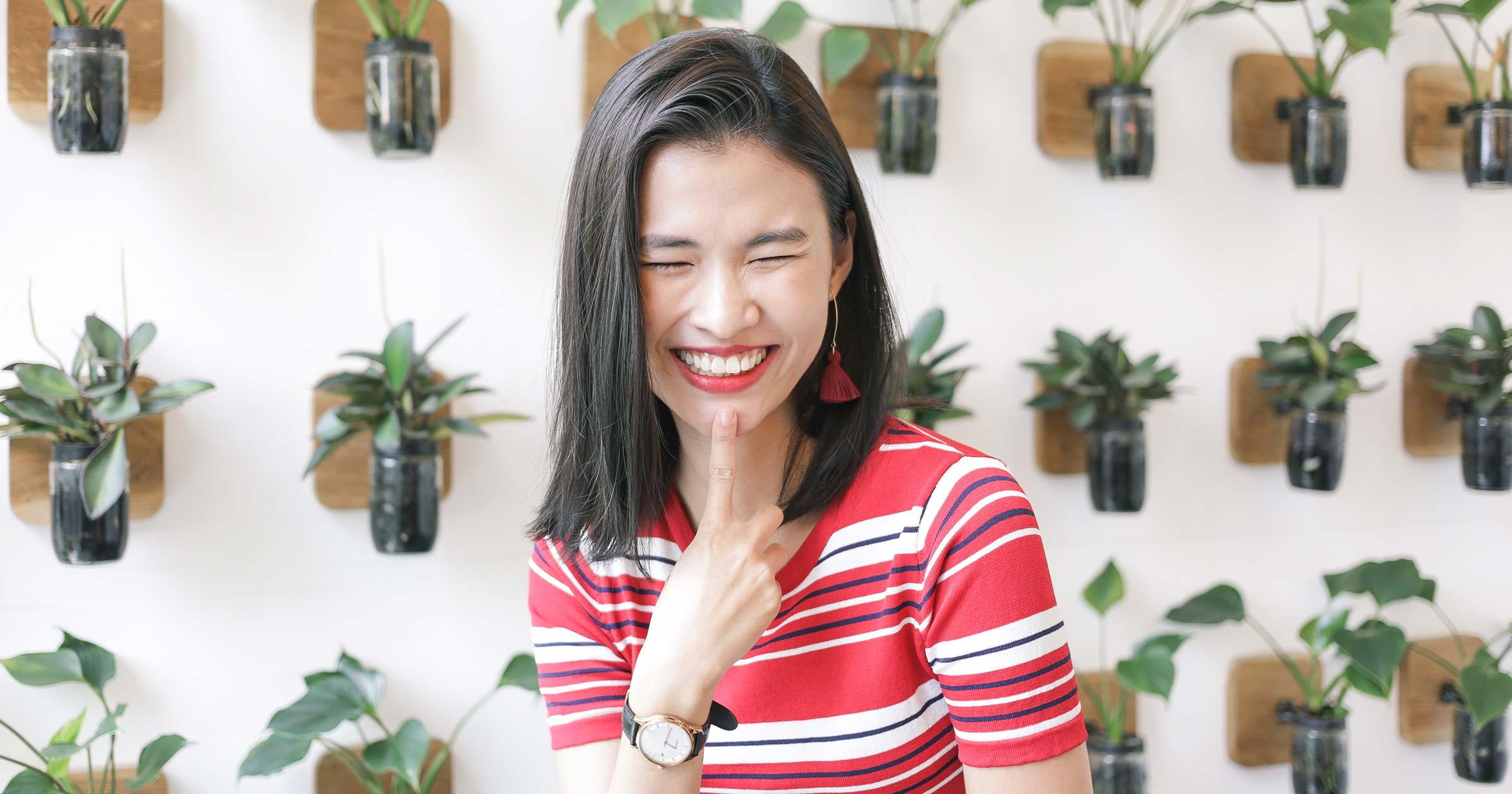 Vietnamese Model Cao Thien Trang