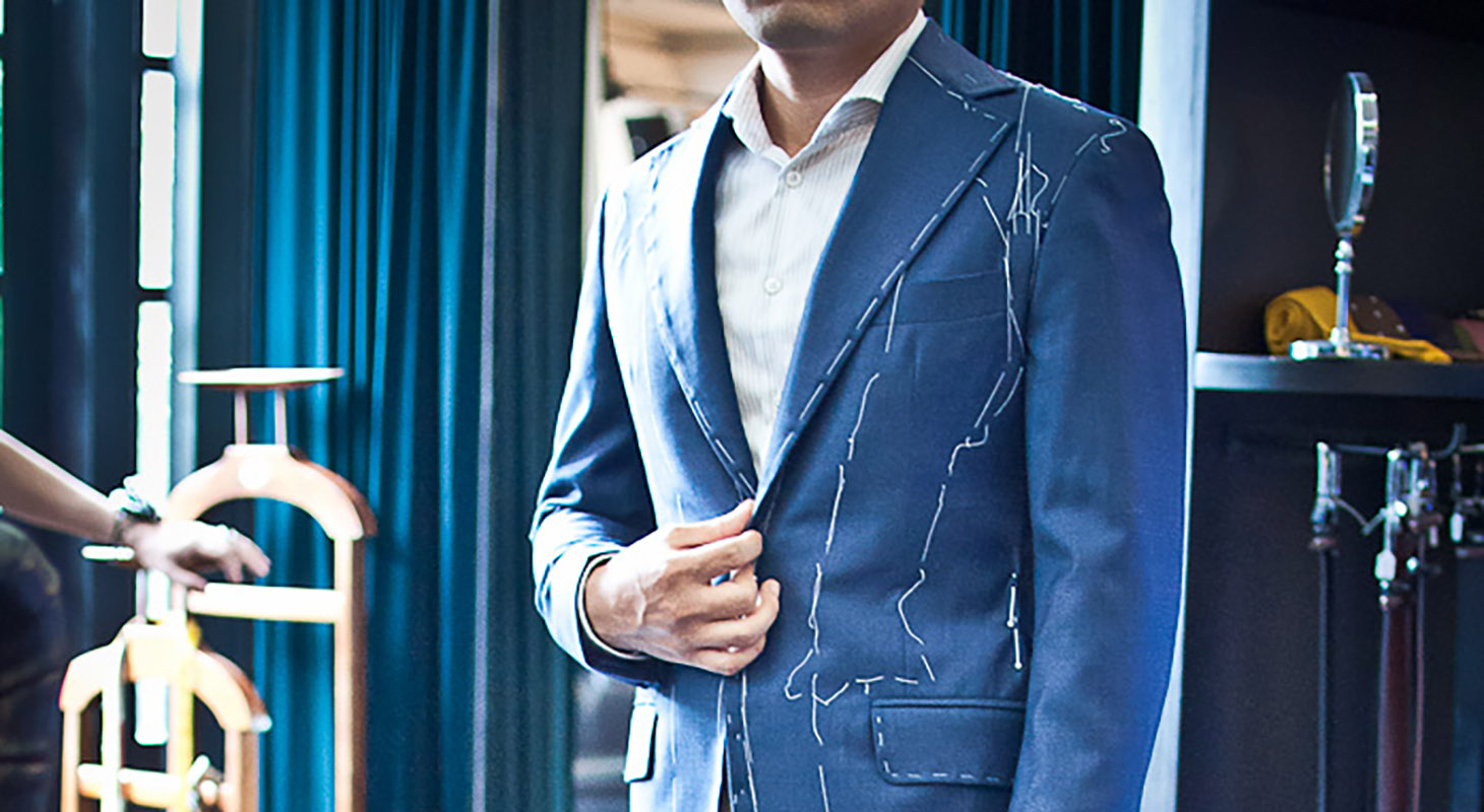 Tailored made suit in Vietnam