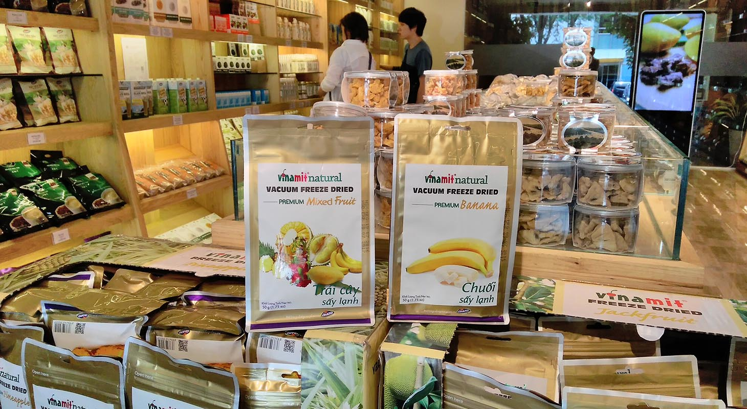 Organic places in Vietnam