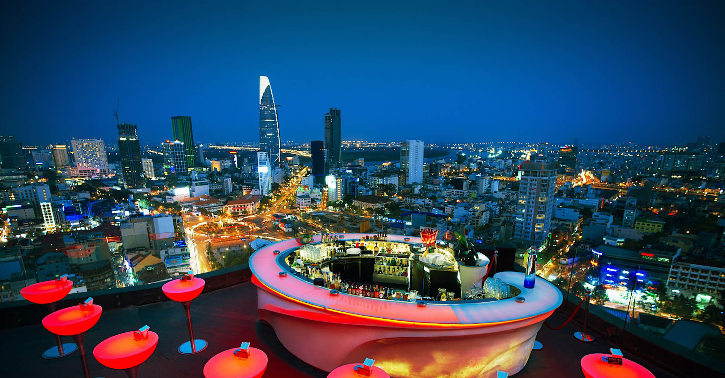 Popular Rooftop Bars In Ho Chi Minh City