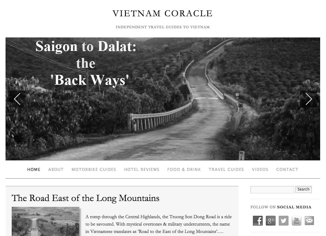 Vietnam Coracle BW