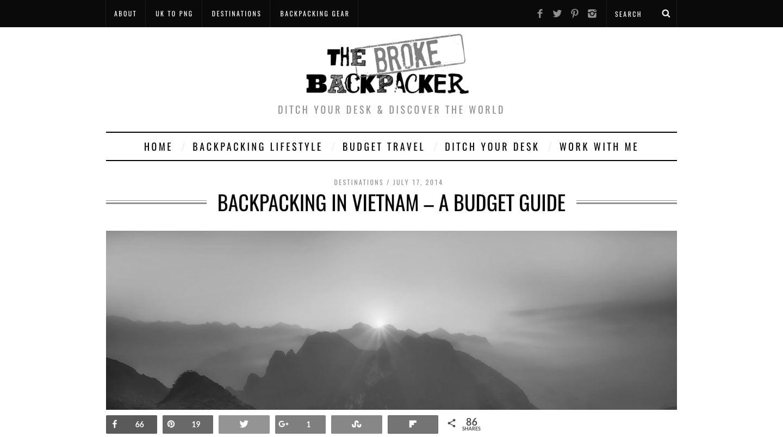 The Broke Backpacker