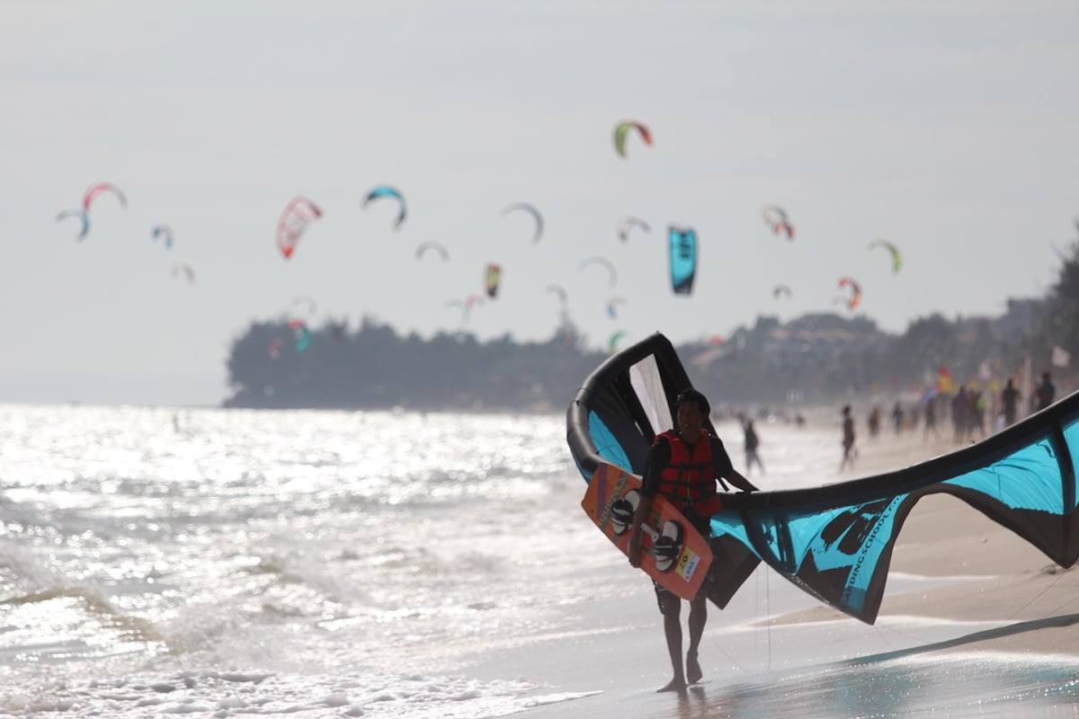 Kite Surfing Mui Ne