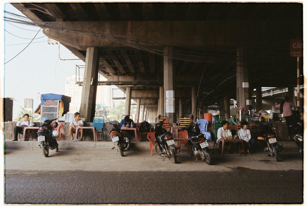 Under the Saigon Bridge