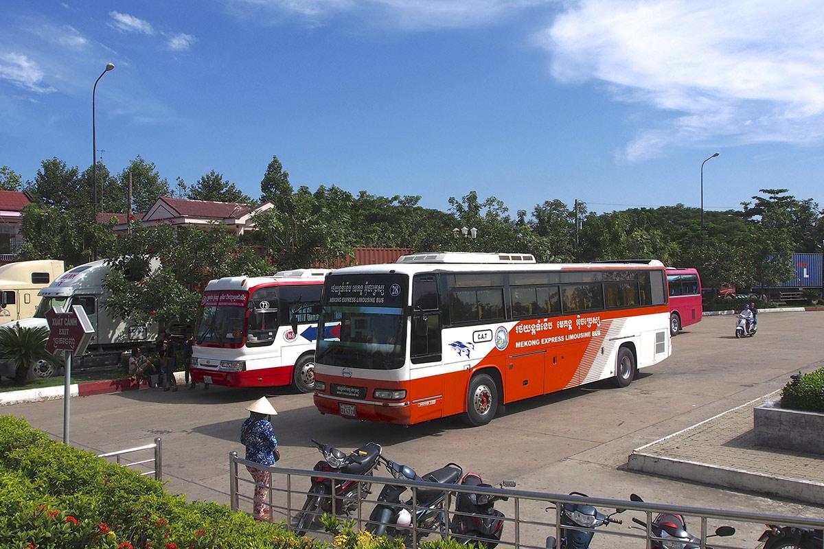 Ho Chi Minh to Phnom Penh Bus
