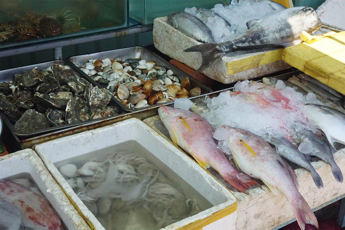 Seafood in Mui Ne