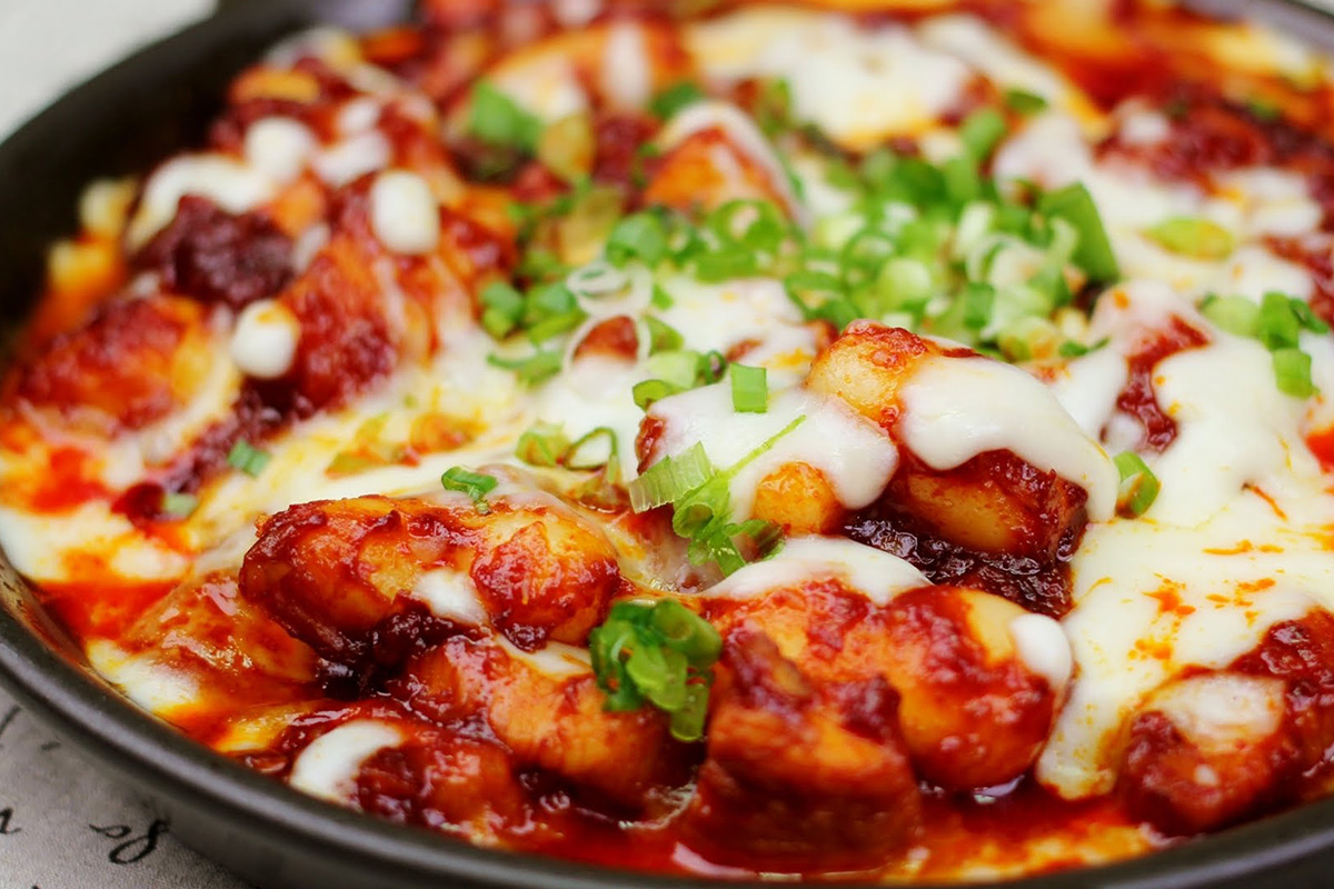 Spicy Fire Chicken With Cheese