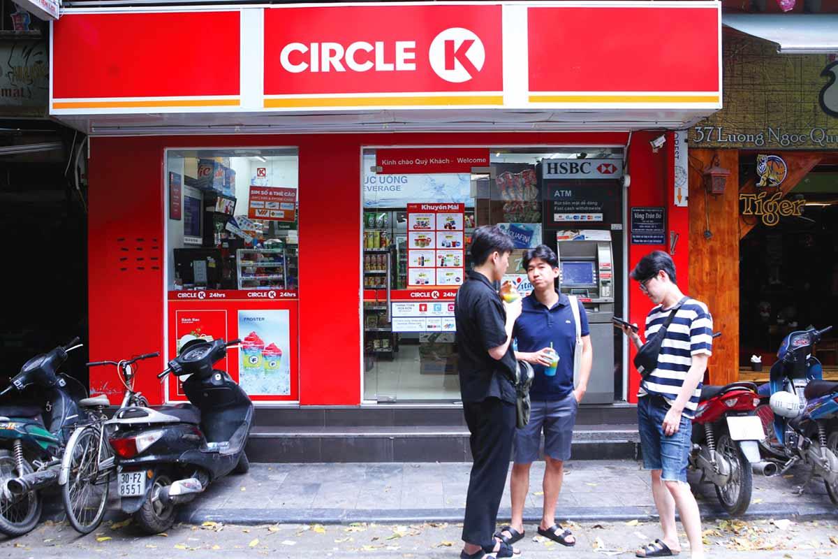 Convenience Store in Vietnam