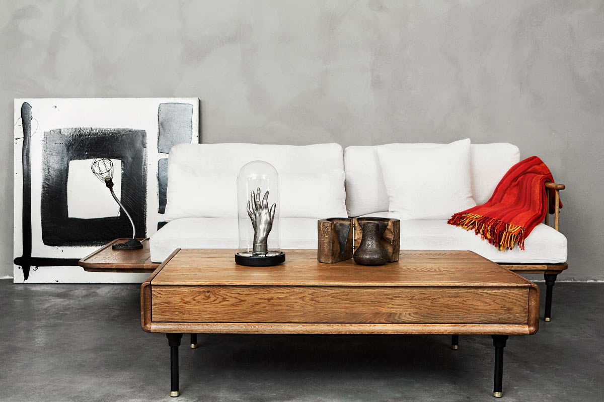 DIstrikt Sofa and Coffe Table