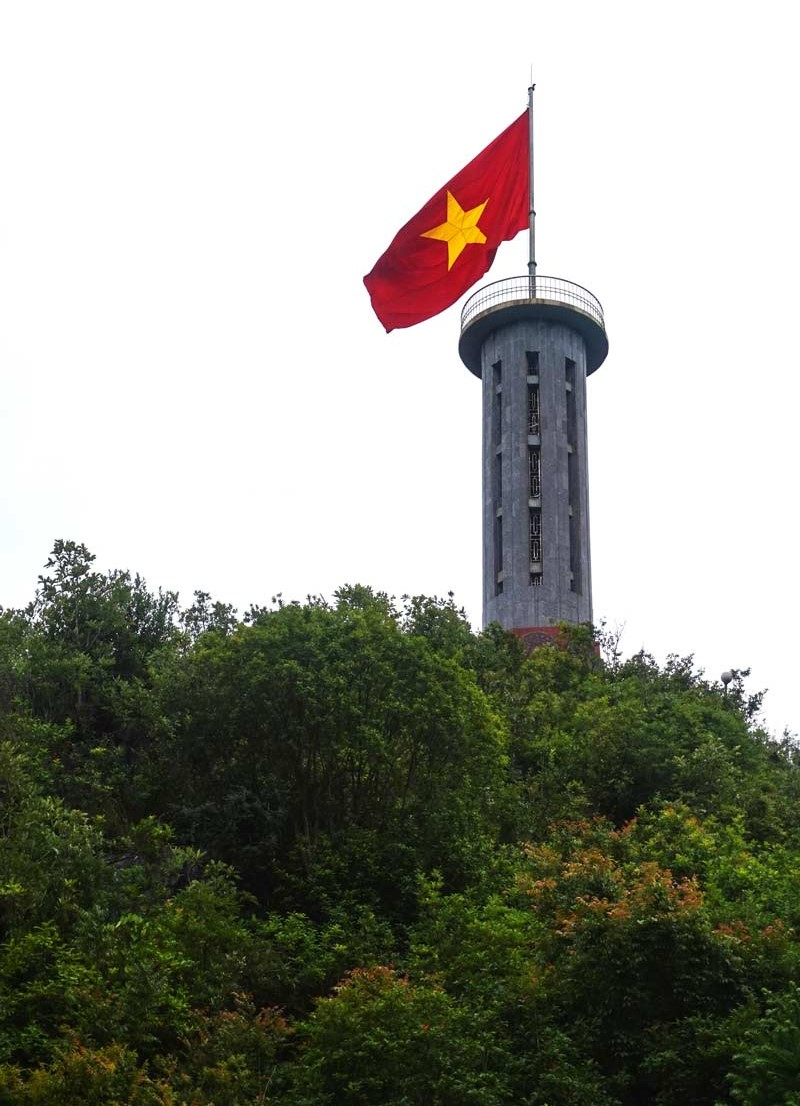 Lung Cu Flag