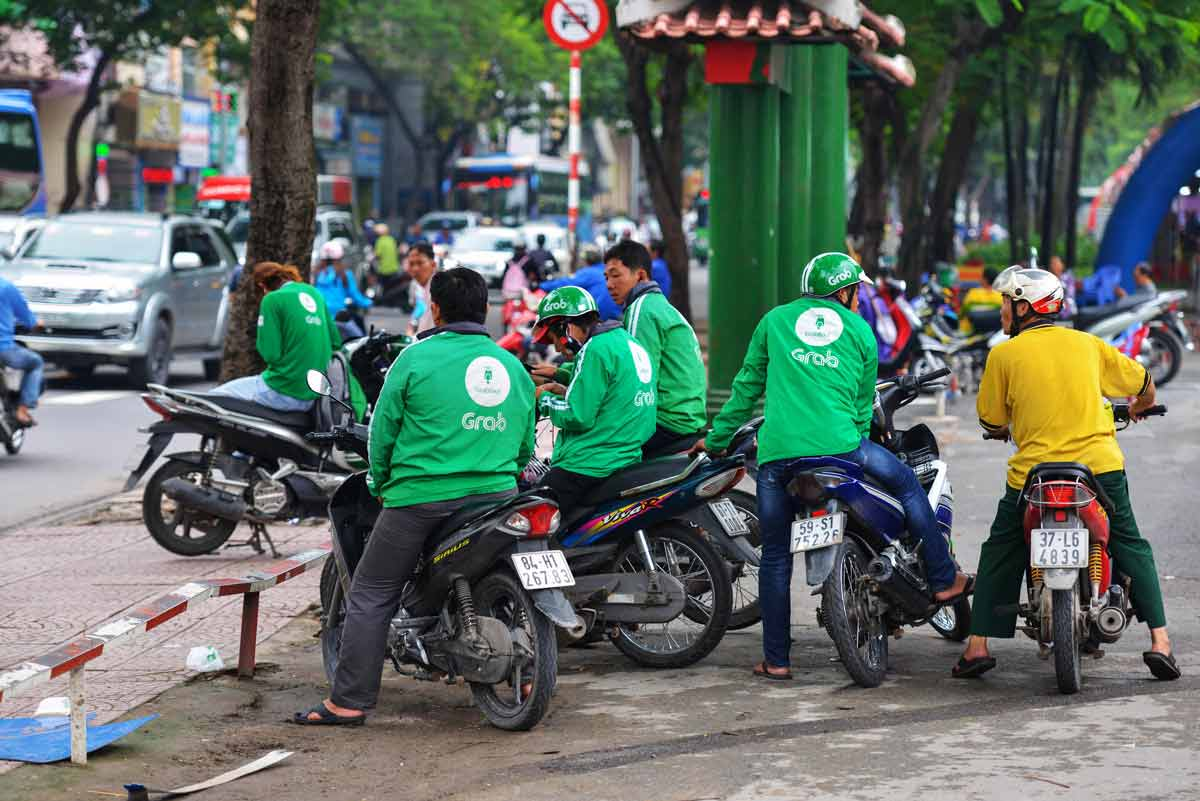 Grab bike Vietnam