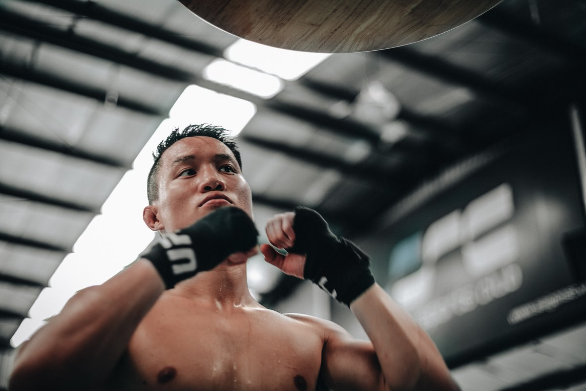 Mixed Martial Artist Ben Nguyen