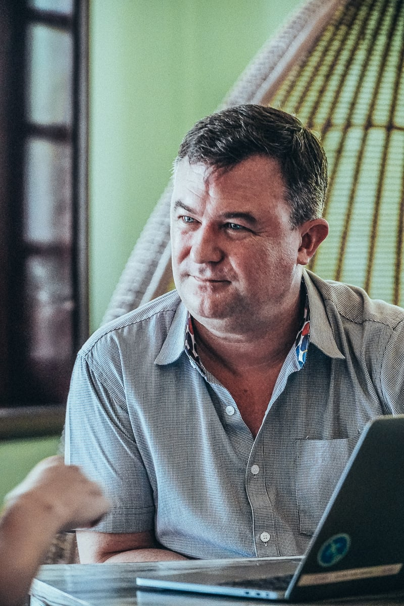 Pieter van der Hoeven From Anantara Hoi An Resort's