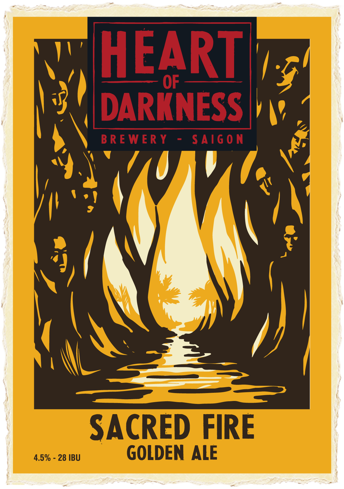 Heart of Darkness - Sacred Fire Golden Ale