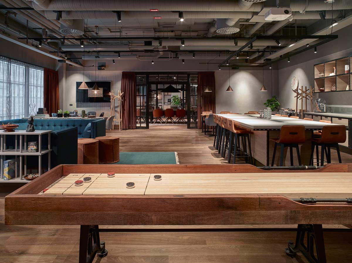 Scandic Downtown Camper Game Room