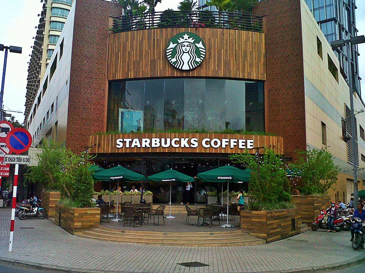 Starbucks Coffee New World