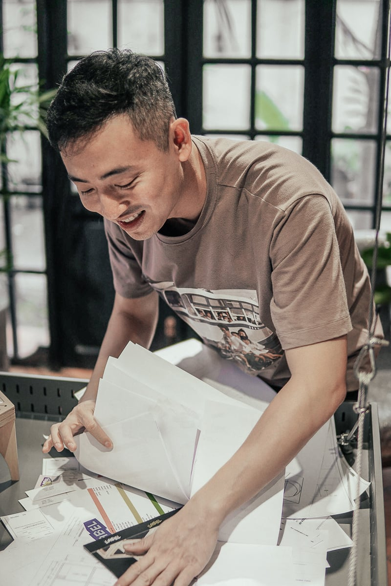 Tuan Le from The Lab