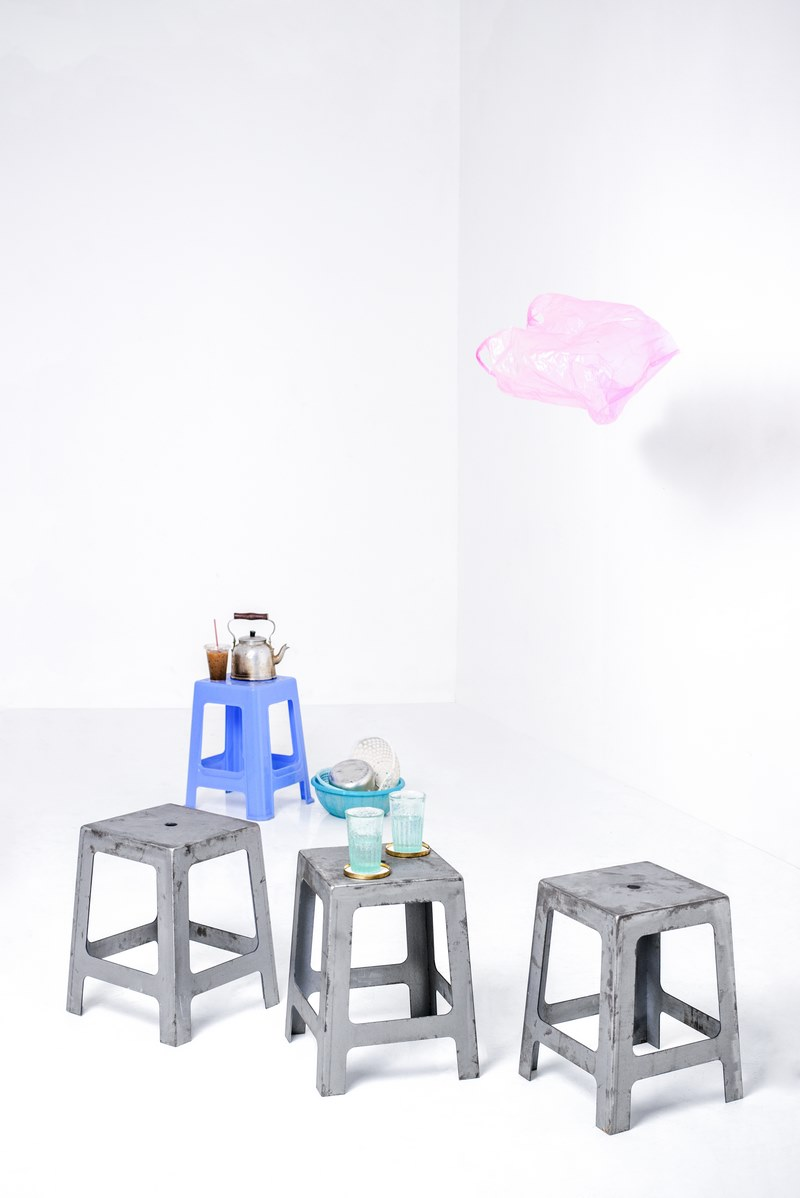 Metal stool from Label Concept Store