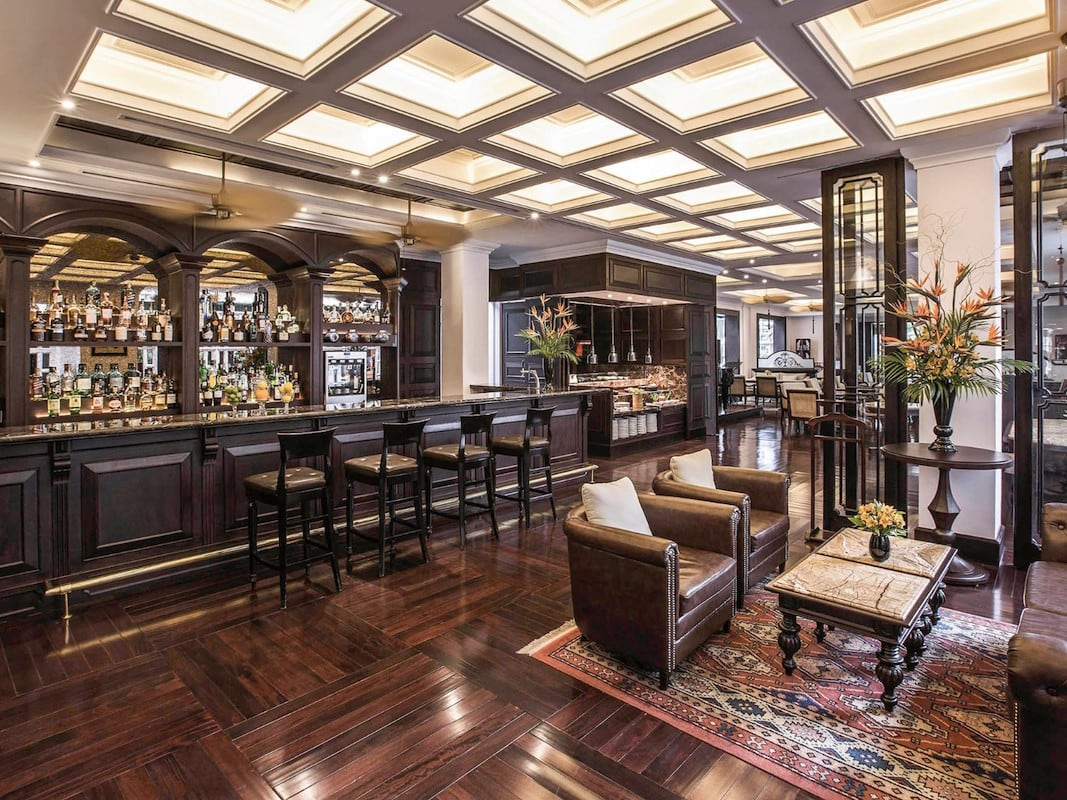 Sofitel Metropole Hanoi Bar design by GEMA
