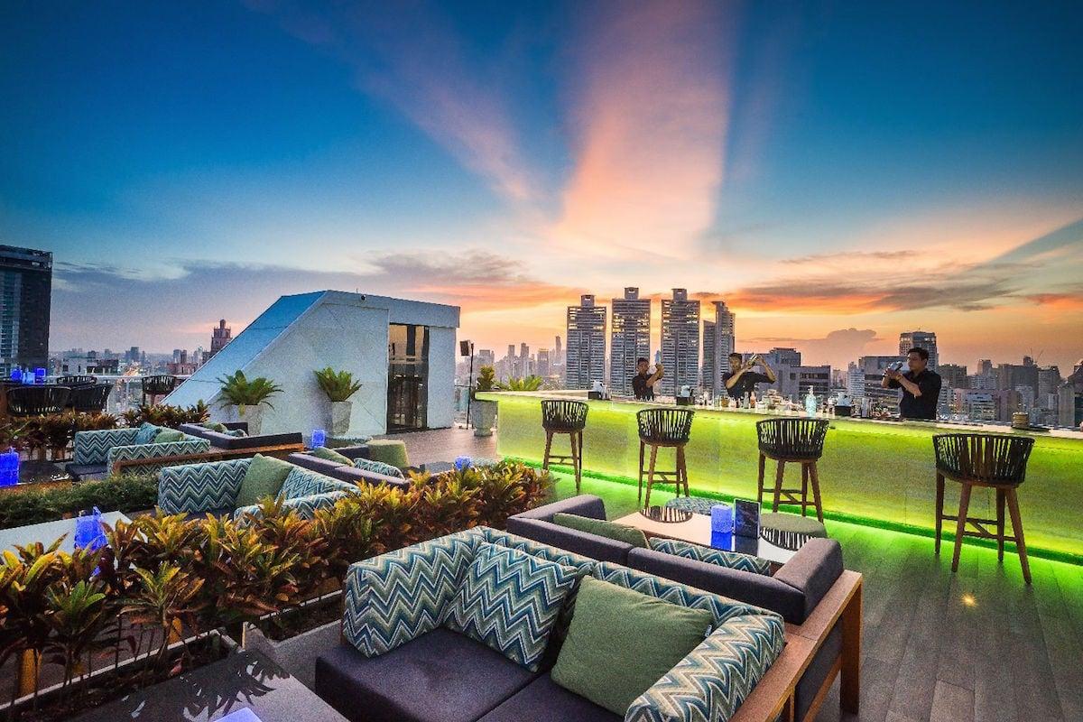 Vanilla Skybar interior architectural design by GEMA