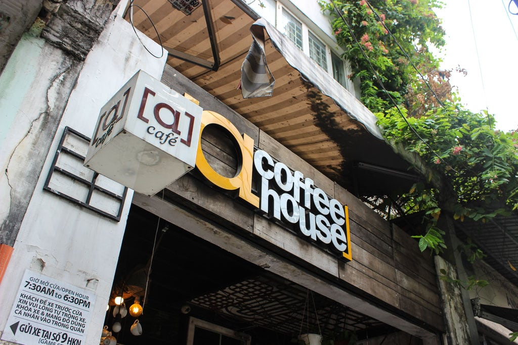 [a] Coffee House in Ho Chi Minh City, Vietnam