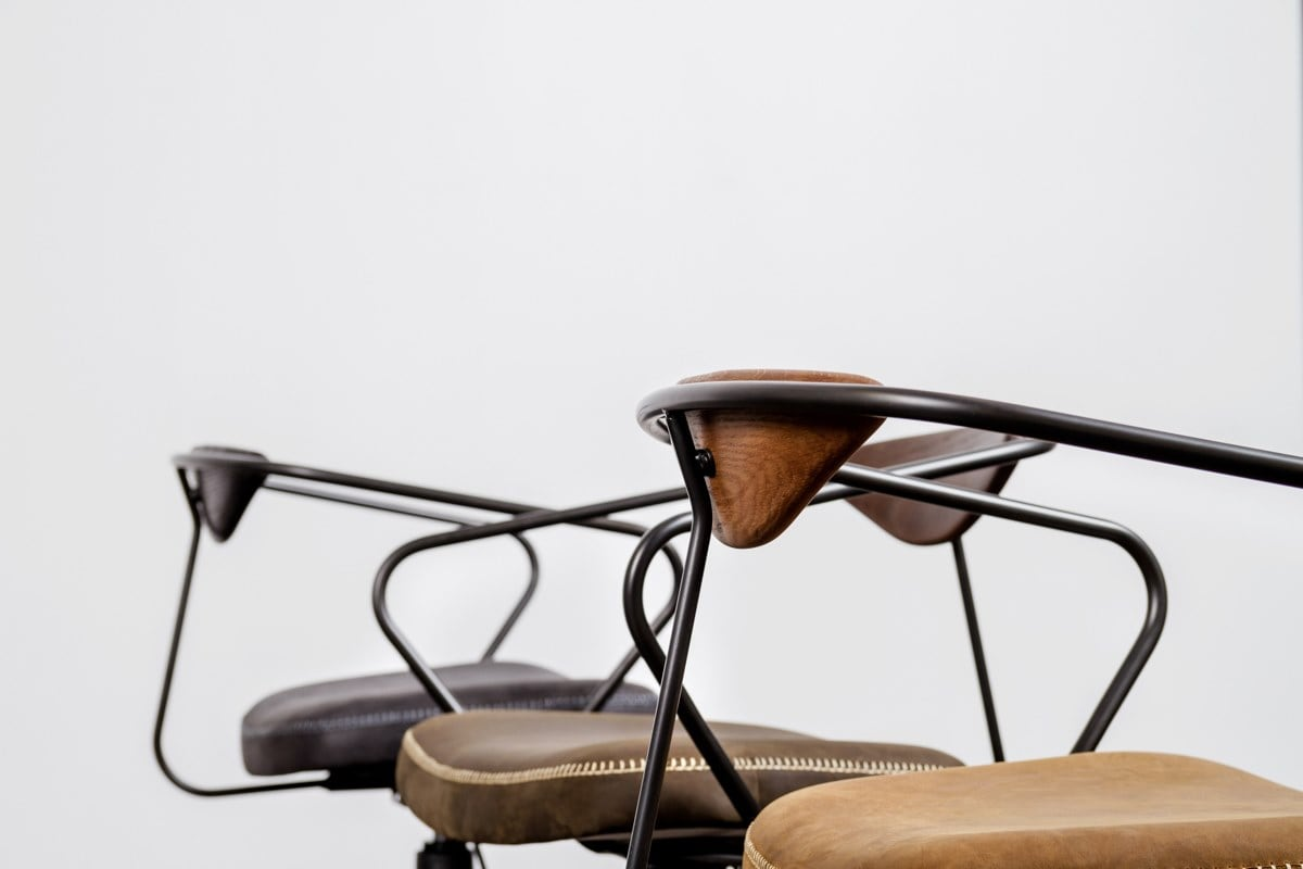Items from District Eight's Akron collection are visually attractive, and designed with a spirit of full functionality.