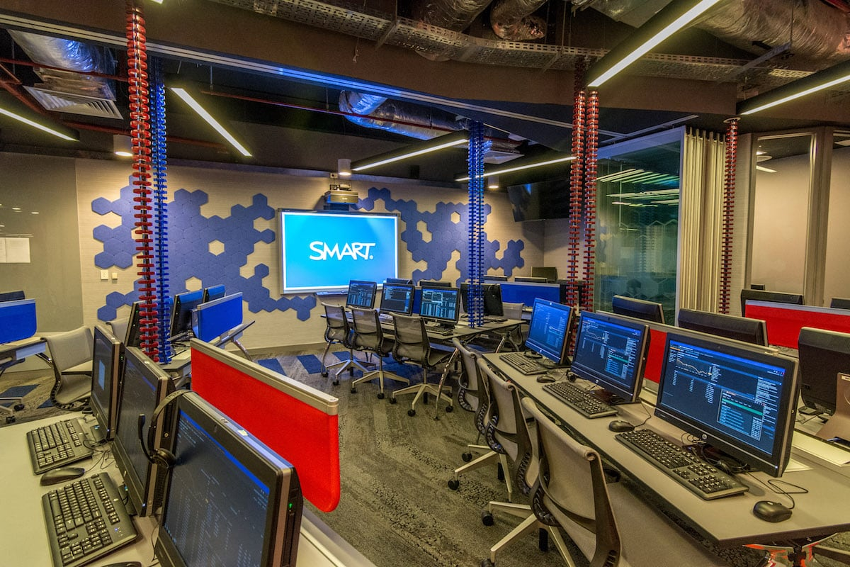 RMIT financial trading laboratory