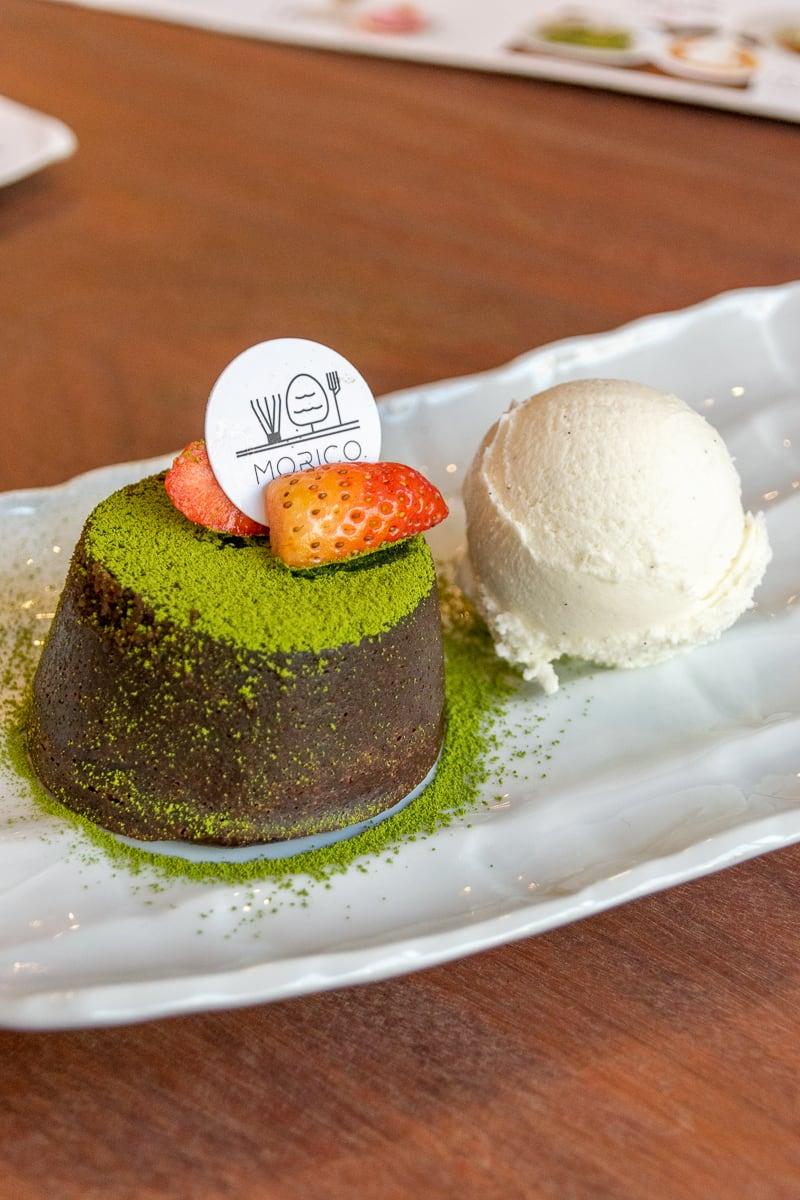 Molten Chocolate Cake-Morico