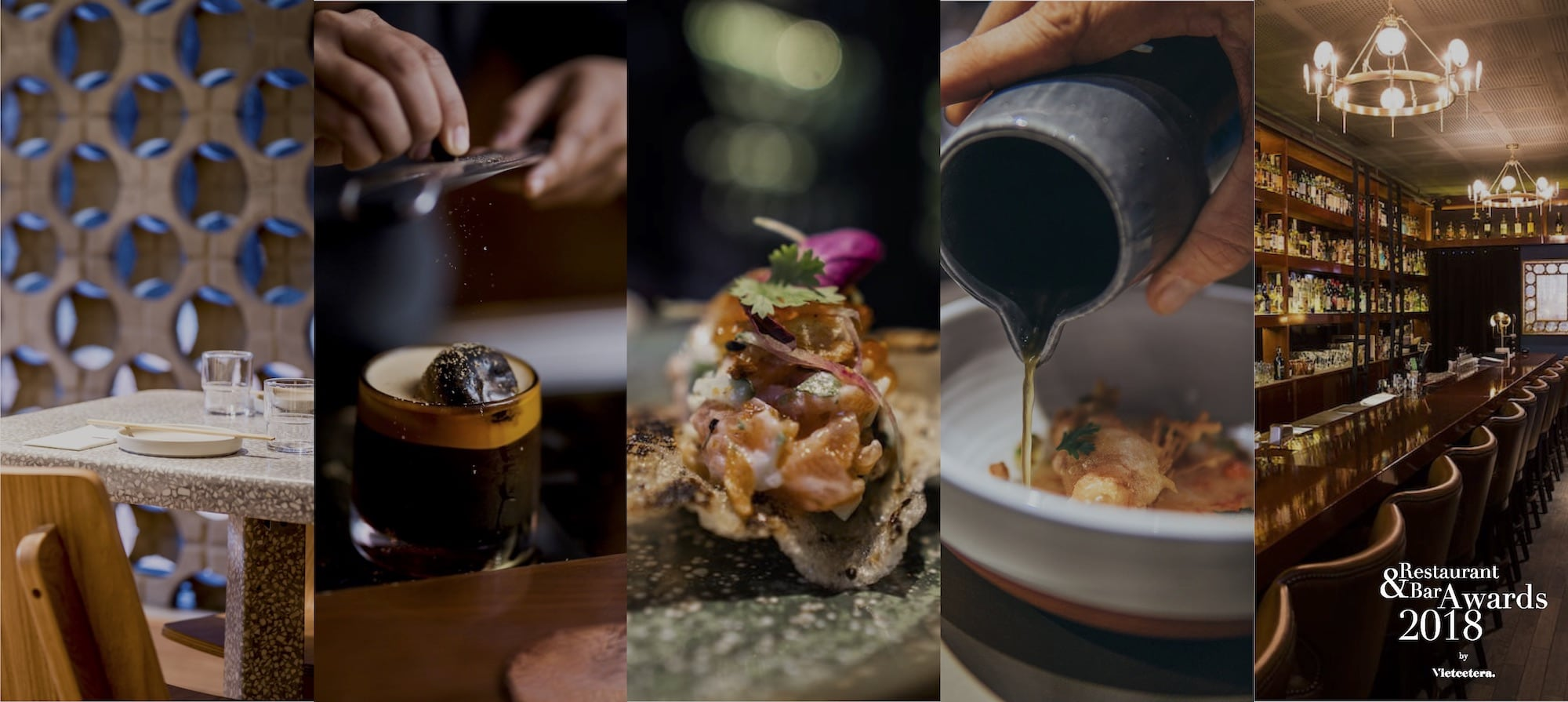 Vietcetera's Restaurant & Bar Awards 2018: The Nominees In Full