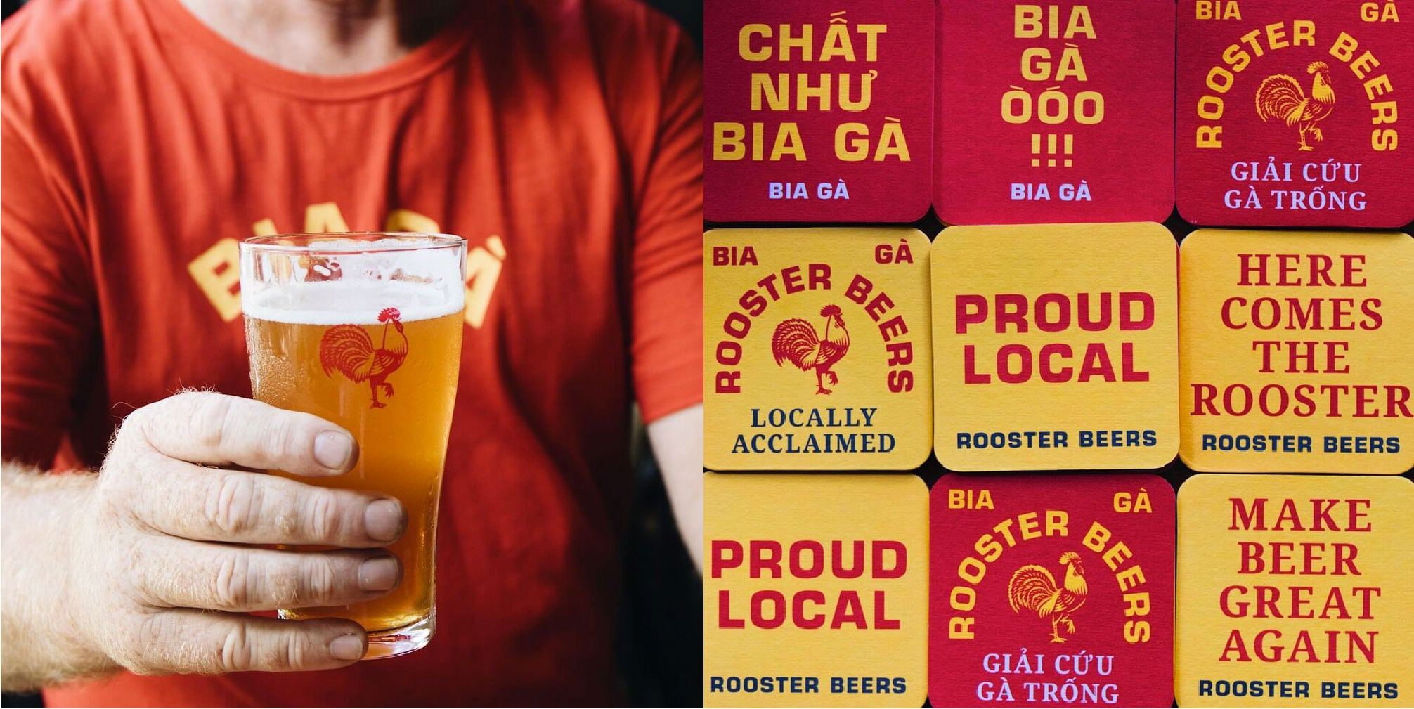 Rooster Beers' Rebranding: The Anti-Craft Vietnam Craft Beer Brand