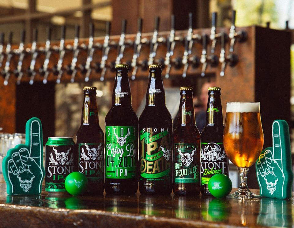 """Stone Brewing Co. were named """"all-time top brewery on planet earth"""" by BeerAdvocate magazine."""