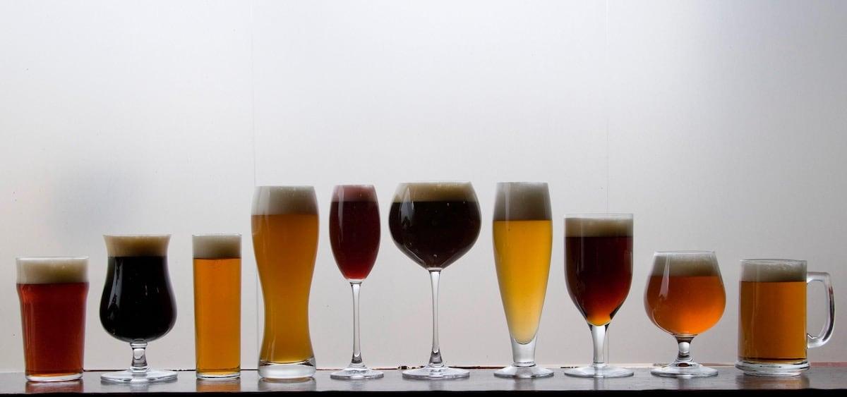 các kiểu ly cho bia