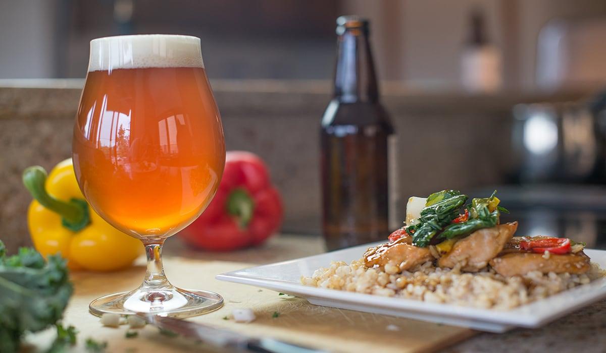 food pairing with beer