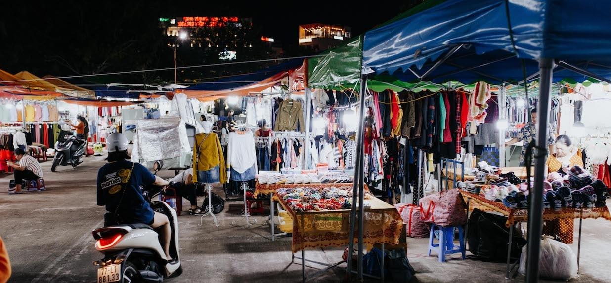 Quy Nhơn's markets