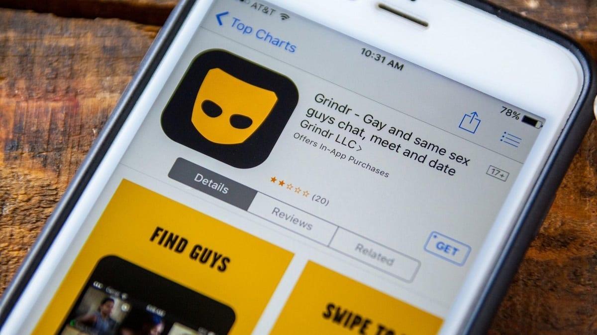 grindr-dating app