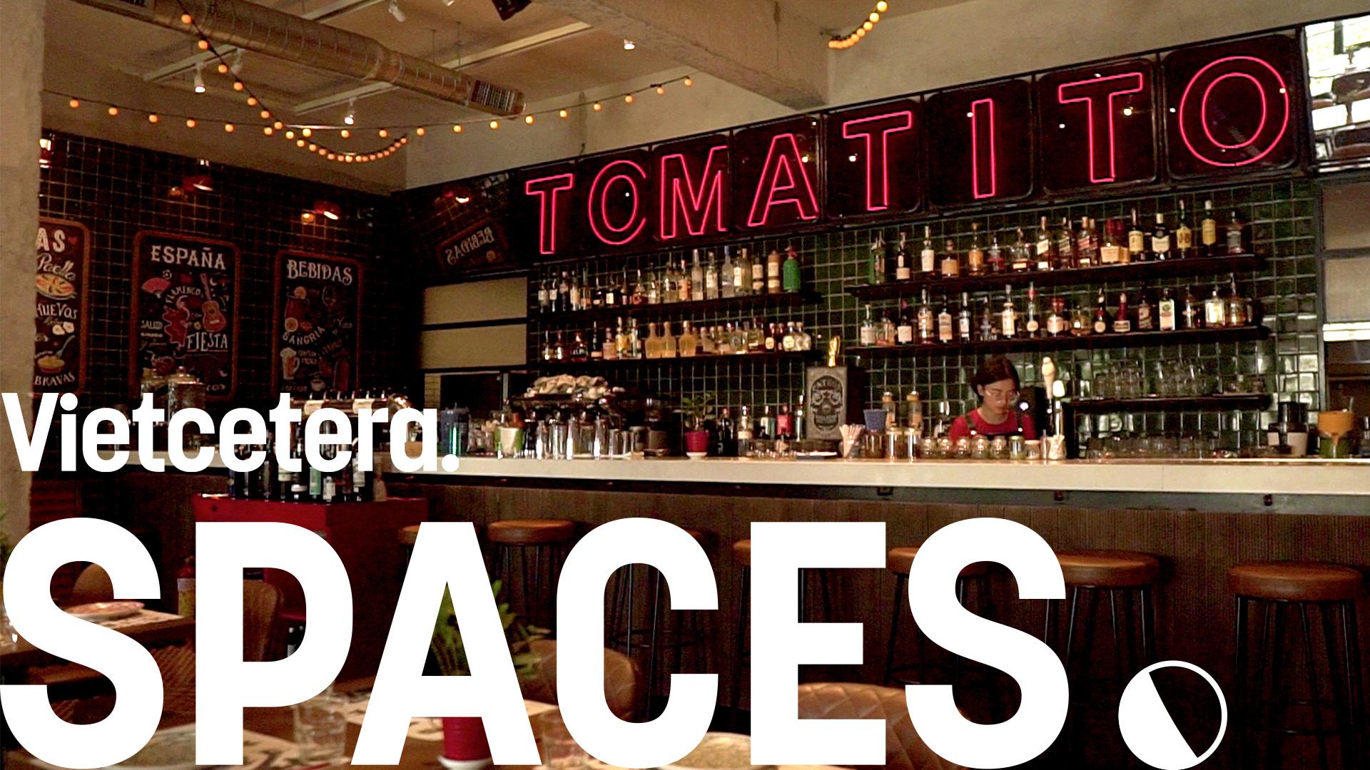 Tomatito Saigon: A Tribute To Spanish Vintage Tapas Bars | Vietcetera SPACES