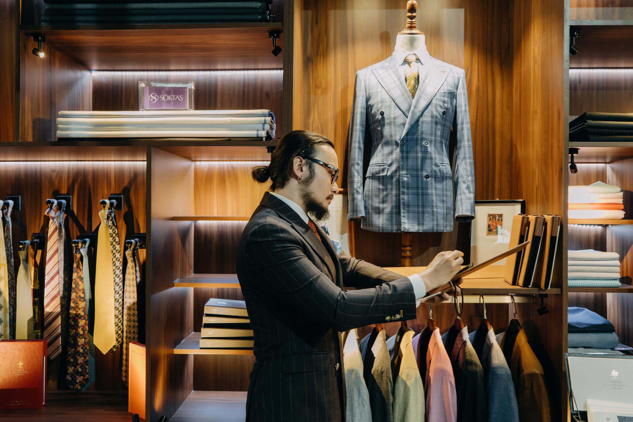 Hanging Passion Next To Suits With Gent-Style In Vietnam
