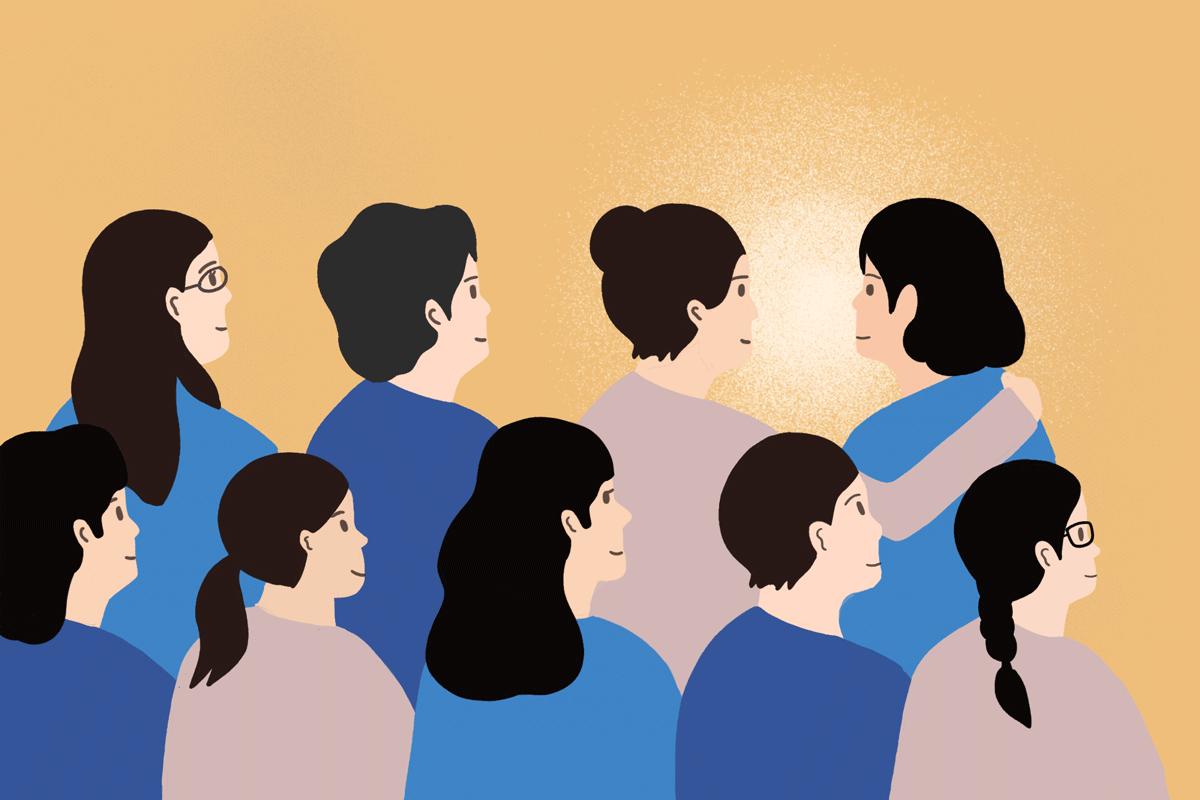 phụ nữ giới hạn bản thân