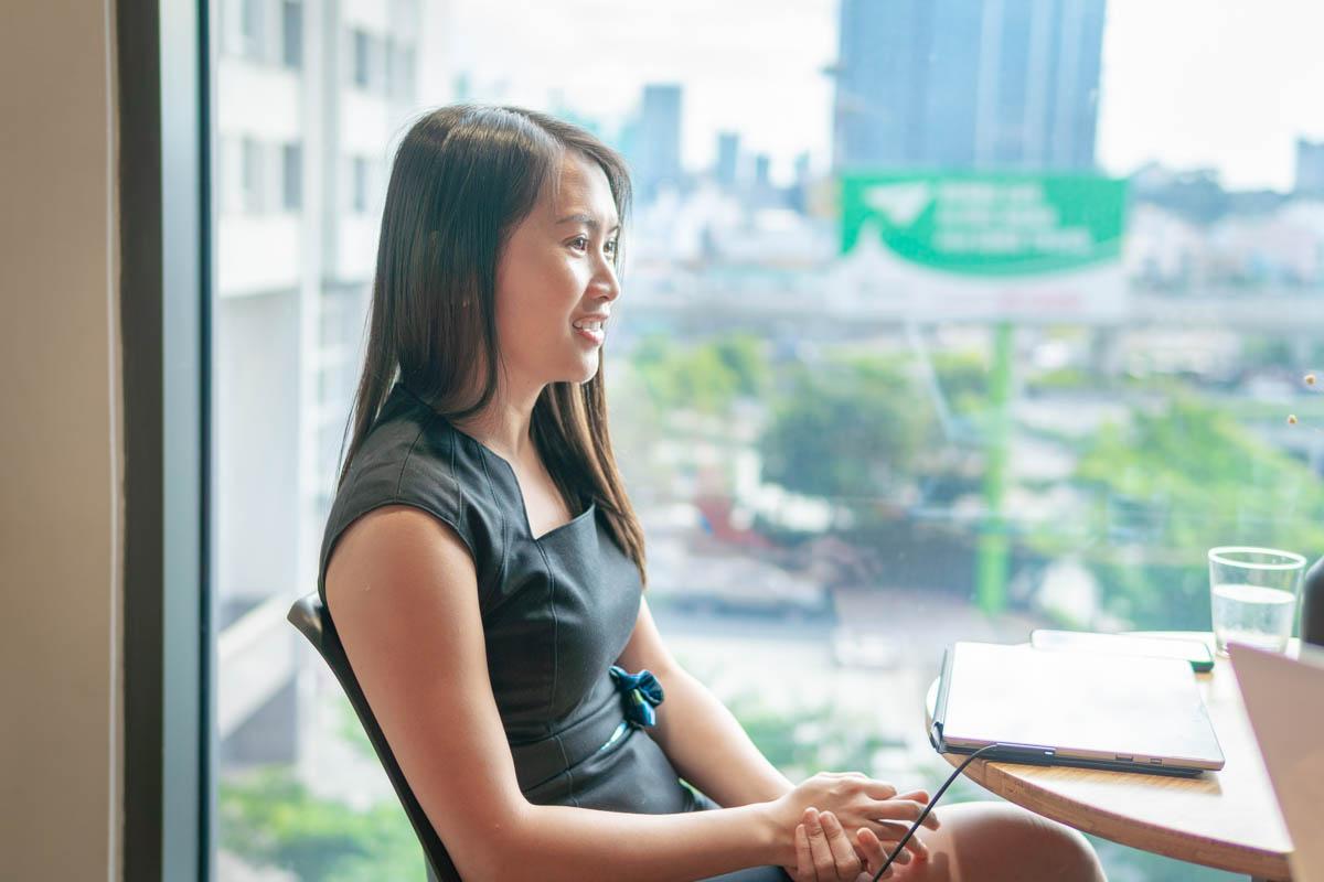 Amy Tran interview photo 1