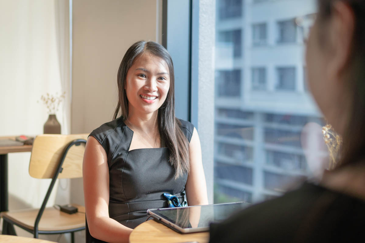 Amy Tran interview photo 3