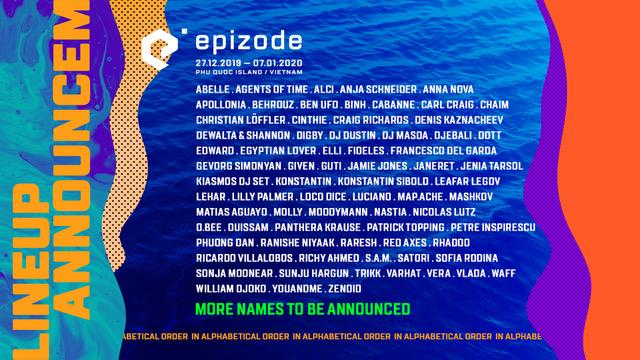Epizode lineup