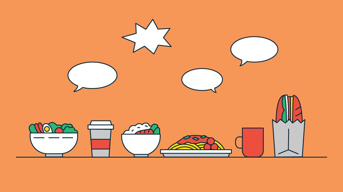 Ăn trưa cùng đồng nghiệp