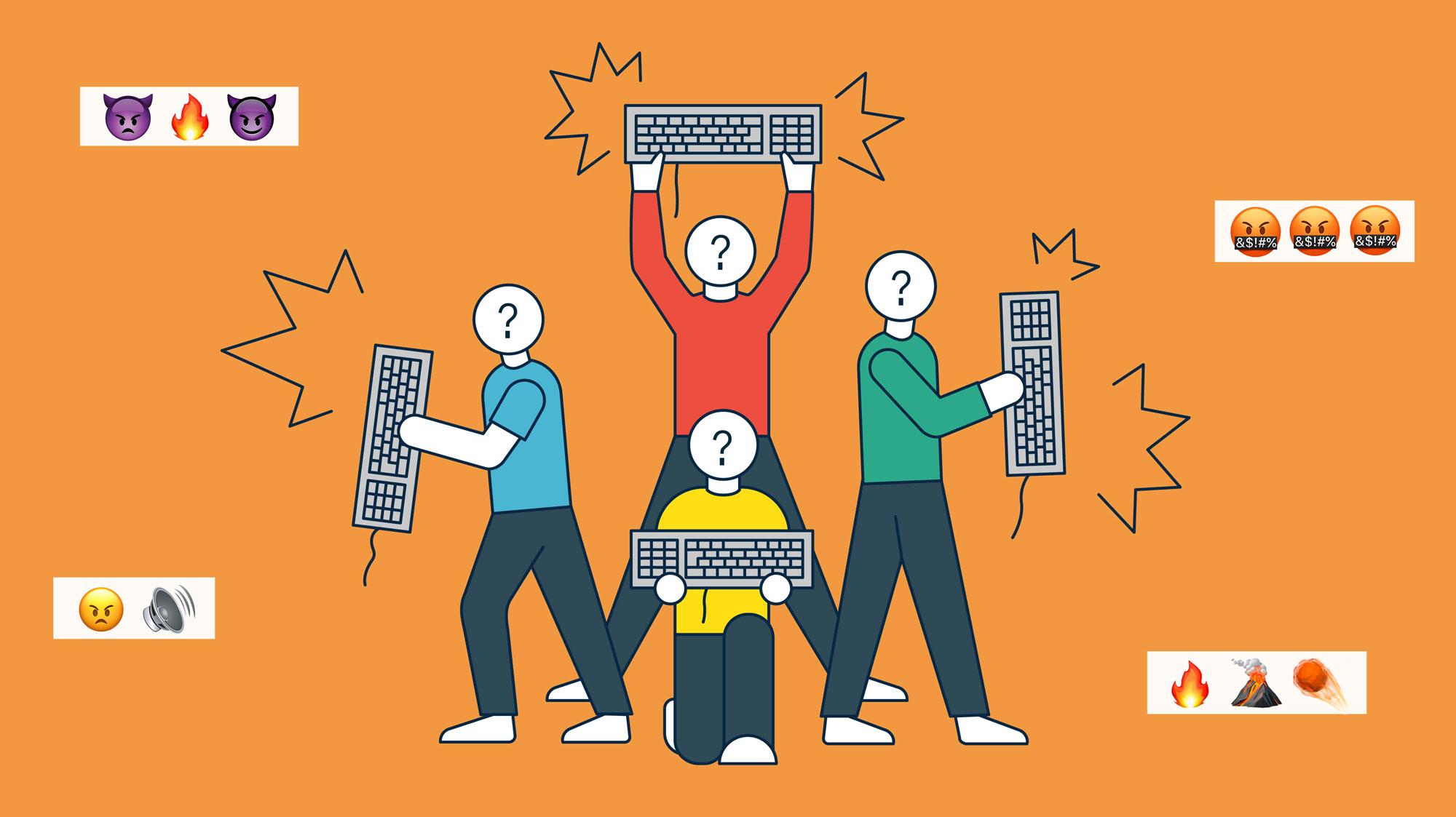 Cãi nhau trên mạng như nào để không bốc hỏa?